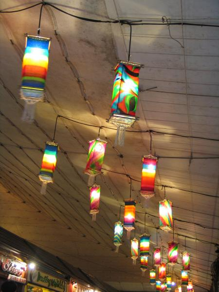 The Philippines-traditional lamps