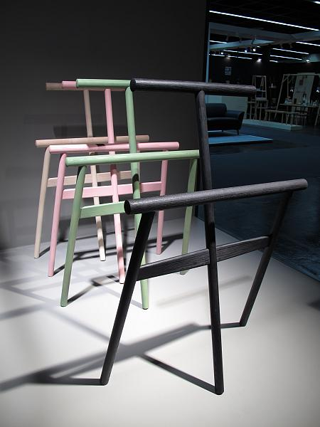 Tordu by Robert Hann is a trestle/valet stand for flexible living